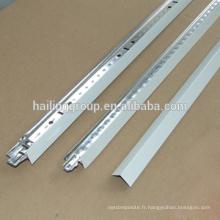 Grille de plafond suspendue en aluminium de haute qualité adaptée aux besoins du client