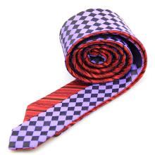 Bespoke Double-Face alle handgemachte chinesische Männer Krawatten Private Label Seide Krawatte