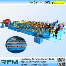 FX doble capa capa de techo hoja de frío formación de maquinaria