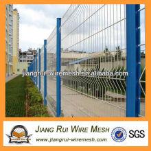 Белый винил покрытием сварные сетки забор (Китай производитель)
