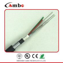 Buried / Duct / Aerial Application fita metálica blindada multi pares SM / MM osp cabo de fibra óptica