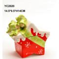 Ceramic Handpainted Gift Box-Star Shape