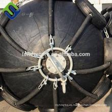 guardabarros de goma flotante neumático usado para el barco para atracar, enviar para enviar