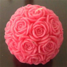 ROSE CANDLES LUXURY GIFT, BEAUTIFUL, DECORATIVE, HAND MADE, CANDLES