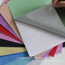 Pegatinas adhesivo colores glitter papel para scrapbooking 2016 moda Navidad alibaba china proveedor