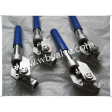 2000wog Stainless Steel Dead Man Handle Automatic Ball Valve