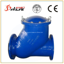 Flanged Ends Ball Check Valve Made of Nodular Cast Iron