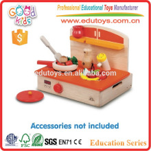Кухонные принадлежности Детские игрушки Мини-печи Дети Деревянные игрушки для кулинарии