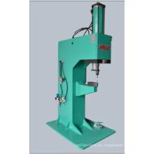 Máquina de remachar con cilindro hidráulico neumático