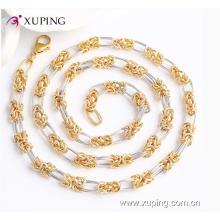 42886 moda multicolor charme imitação de jóias colar de corrente com níquel livre
