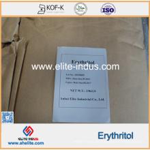 Endulzante de alcohol de azúcar Erythrit (cristal / polvo) como edulcorante saludable