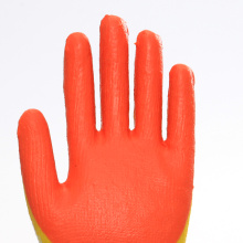 Double Layer Latex Coated Wearable Work Gloves