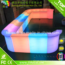 LED-Würfel-Möbel-Verkauf, LED-Außenmöbel, behinderte Stuhl-Möbel