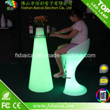 Table à barres LED