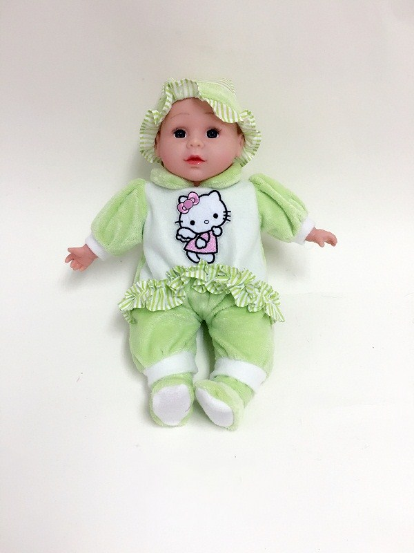 Green Clothes Baby Doll