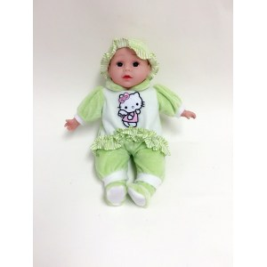 "16"" Printing clothes vinyl baby doll"