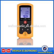 medición láser de distancia de precisión LDM100D con medición de nivel de burbuja Herramienta de área / volumen