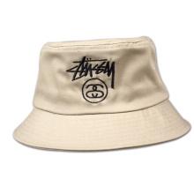 Tampão bordado chapéu de balde de boné com capacete de estilo europeu