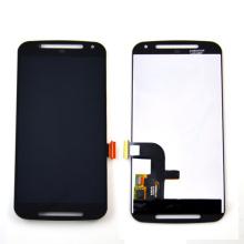 Pantalla LCD de bajo costo para Motorola Moto G2, blanco y negro