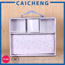 Boîte de papier ondulé de papier d'emballage de textiles
