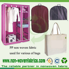 Tissu non-tissé de polypropylène utilisé pour des sacs de vêtement