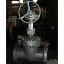 API600 Válvula de compuerta de engranaje helicoidal de acero al carbono