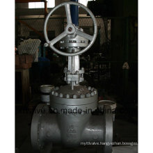 API600 Carbon Steel Worm Gear Gate Valve