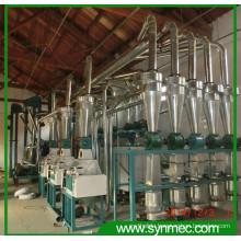 1250-2000kg/h Corn Flour Grinder, mini flour mill plant