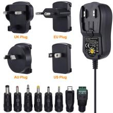 Universal Wall Charger with Convertible Plugs