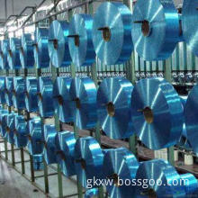 Polyester FDY 300D/96F TBR Dope Dyed Blue Color Yarn