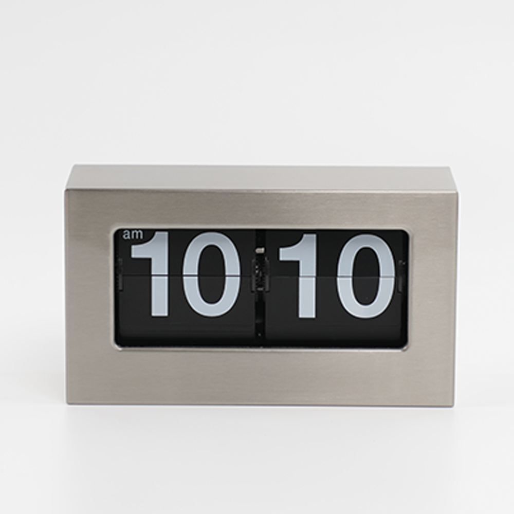 Metal Flip Down Clock