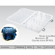 Caixa de equipamento de pesca de isca plástica de preço atraente