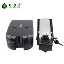 Paquete eléctrico de la batería de la bici del ion de litio del estilo de la rana de encargo 36v 8ah precio eléctrico de la batería de la bici