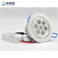 7W branco 85-265V levou teto lâmpada