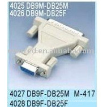 CONVERTIDOR DB9P A DB25P (4025)