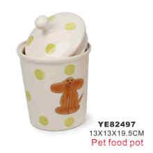 Food Pot, Pet Product (YE82497)