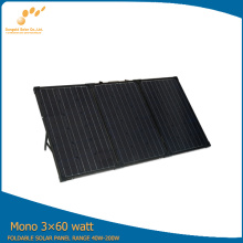 3*60W Portable Solar Panels for Solar Powered Golf Carts