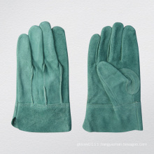 Meduim Weight Full Leather TIG Welding Work Glove-9969. Gn