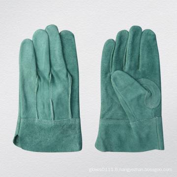 Gant de protection pour gants de soudage en cuir pleine fleur TIG Split-9969. Gn