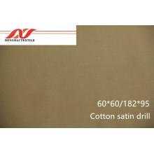Cotton satin drill 60*60/182*95