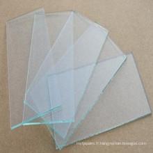 Verre de soudure transparent, lentilles de soudure blanches, verre à soudure transparente, fournisseur de verre blanc