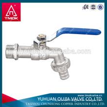 TMOK 1/2'' 3/4'' 1'' BSP brass bibcock brass water faucet brass hose bib tap garden hose bib tap valve fit hozelock