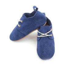 Wholesale Genuine Leather Hard Rubber Kids Oxford Shoes
