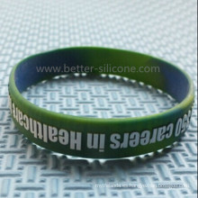 Regalos promocionales Epoxy Embossed Printed Rubber Band