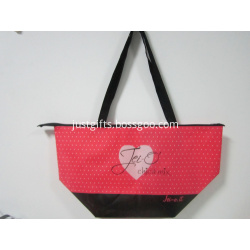 Promotional Non Woven Zipper Tote Bags - Ladder-shaped