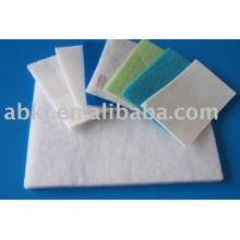 Material de filtro de aire pre usado en aerosol