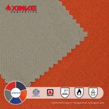 utilisation de tissu aramide ignifuge permanent pour l'uniforme