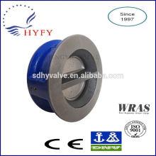 PN10/PN16 cast iron wafer type check valve