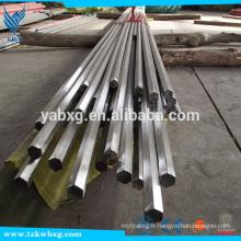 GB705 2B et barres hexagonales en acier inoxydable S8 à S21 316L