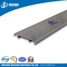 Cabo para placa de rodapé para canto de parede com liga de alumínio